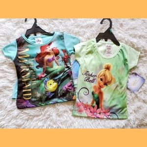 NEW Girls Disney 2piece PJ Set